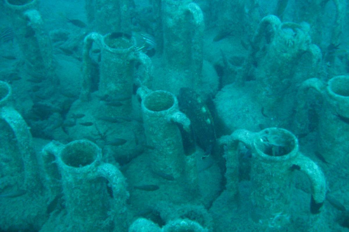 Ancient Amphorae, Limassol Reefs
