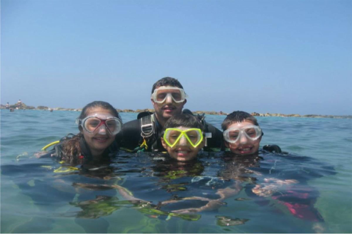 Try diving for all the family holiday diving