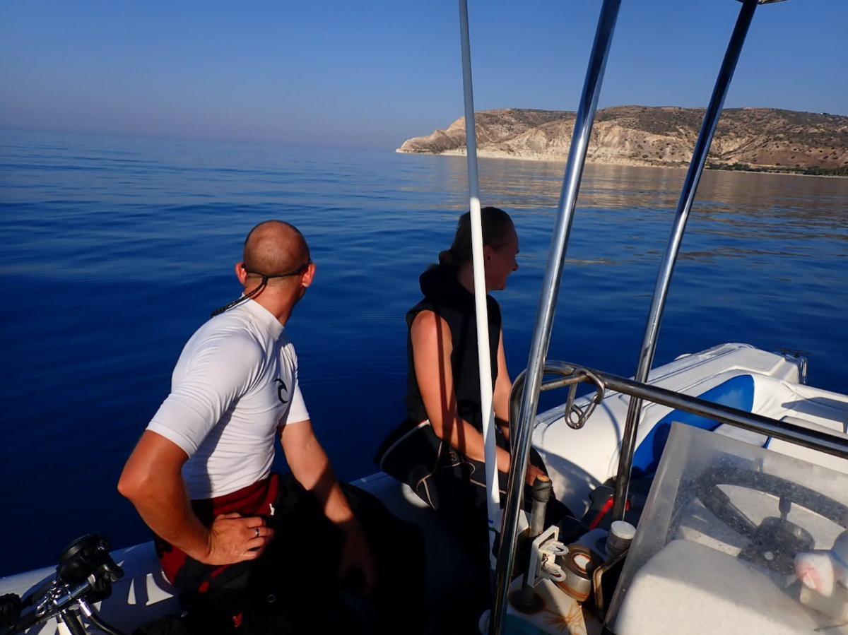 Diving off Pissouri to Jubilee Shoals