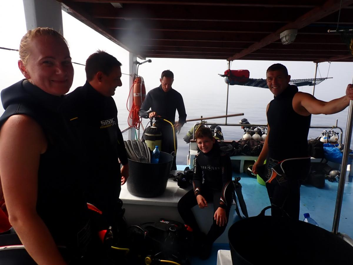 Dive Boat for the NEW Elpida Wreck