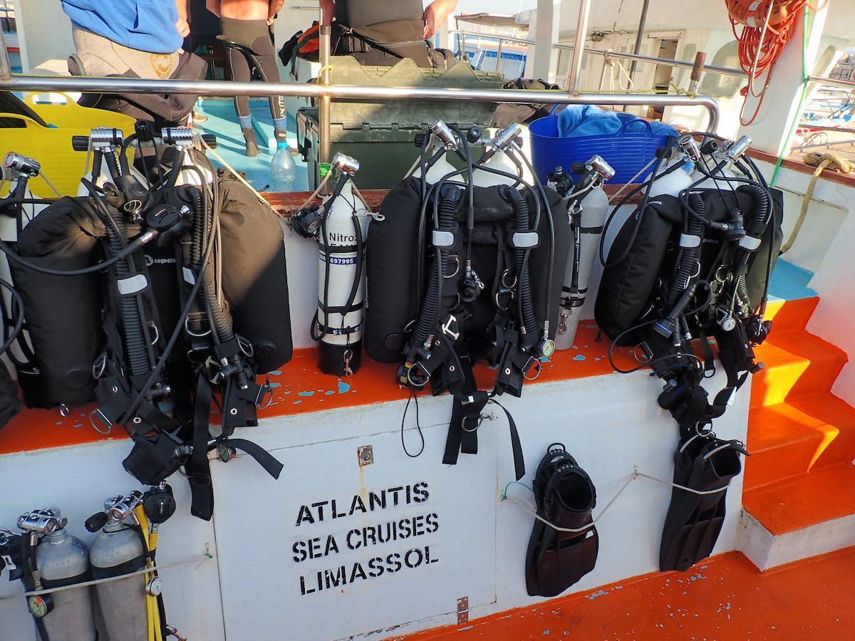 Zenobia Technical Diving