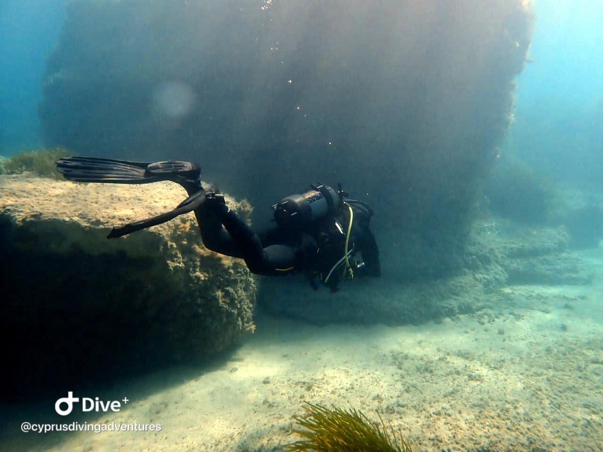 Ampitheatre dive site in Paphos