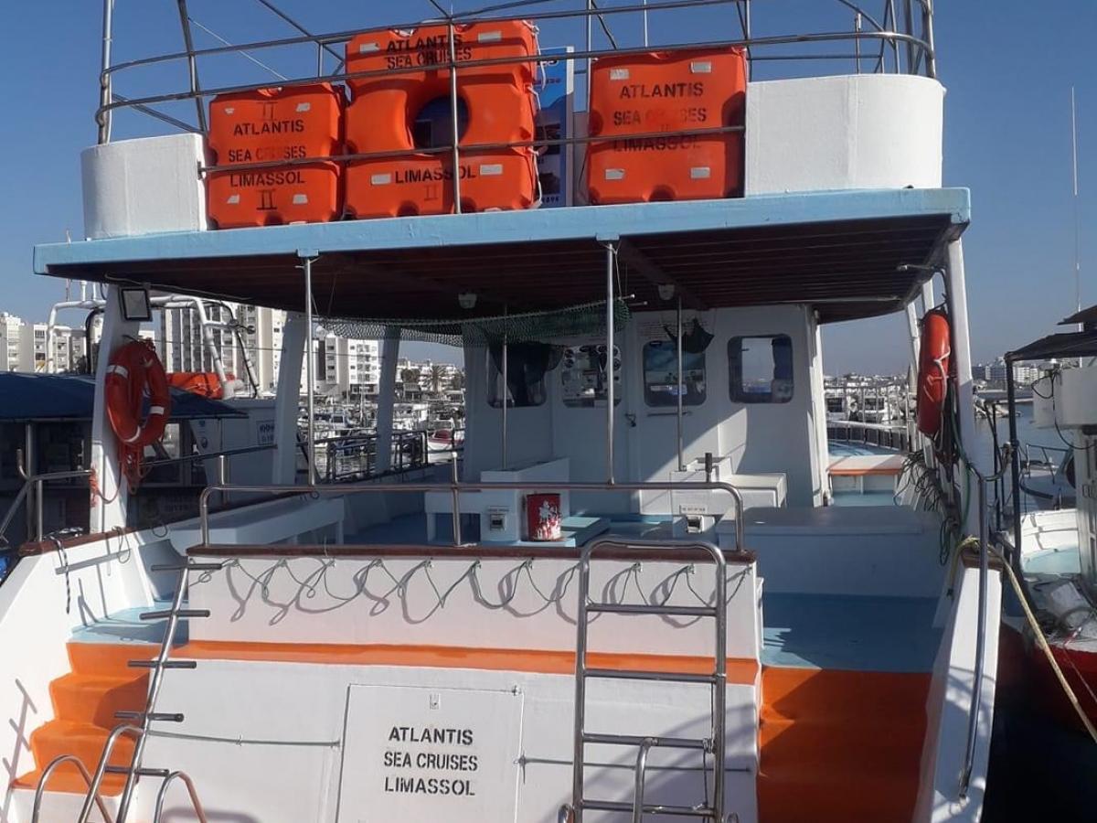 Zenobia Wreck and Elpida Wreck Dive Boat