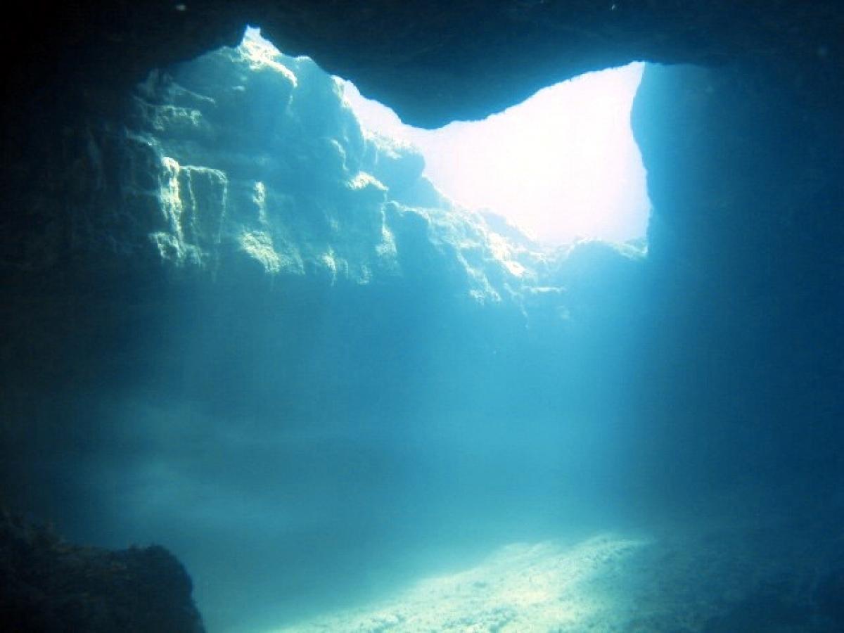 The Stage dive site, Paphos