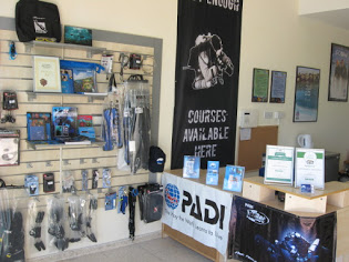 dive centre shop