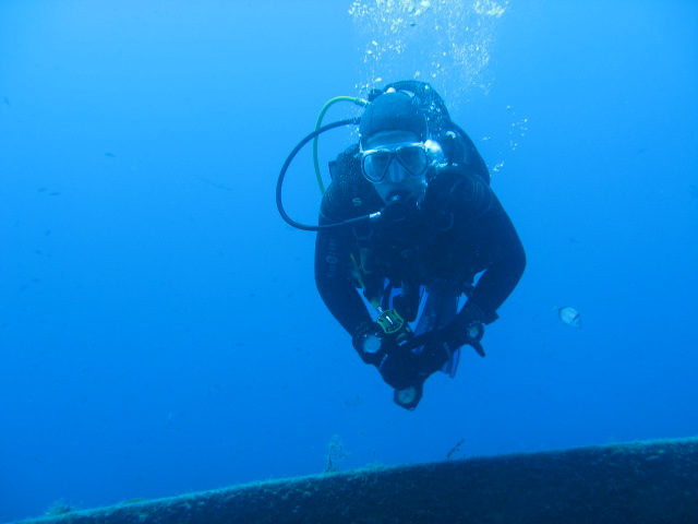 cyprus diving instructor
