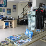 dive centre reception