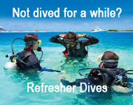 refresher diving in cyprus
