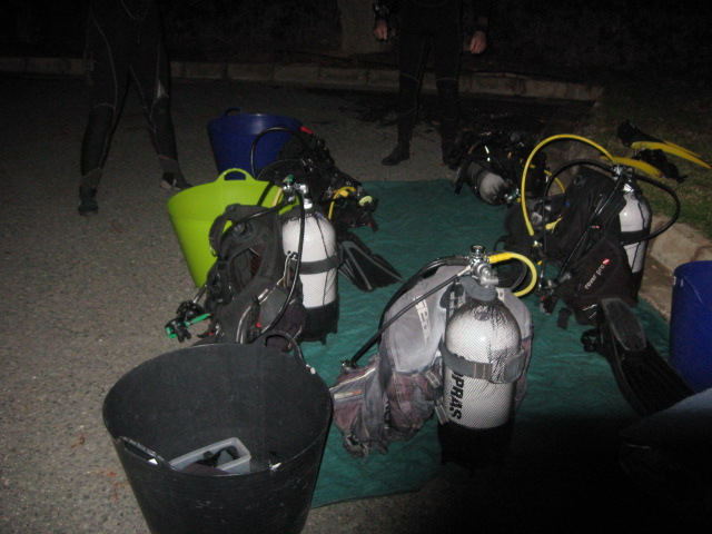 dive equipment care