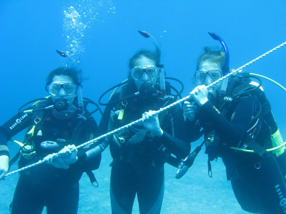 advanced open water divers