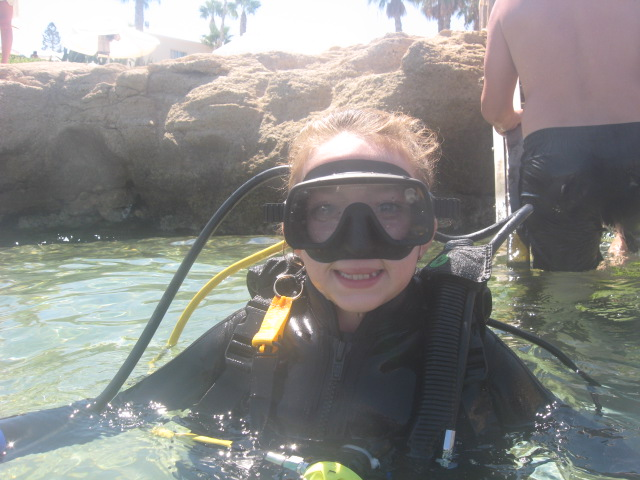 Childrens diving Cyprus