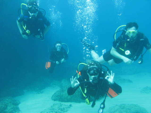 Try diving beginners in Cyprus