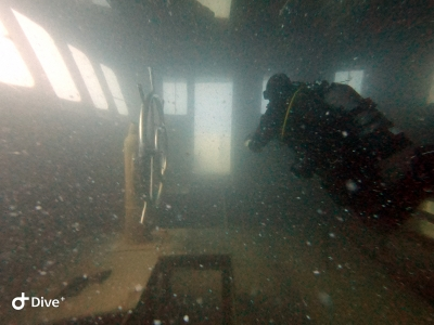 Diving on the new Eplida Wreck in Cyprus