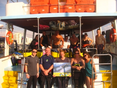 Busy Diving Season in Cyprus