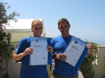 New Divemasters